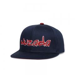 Baseball Cap Korean Edition Flat-edged Light Plate Cap Hip Hop Cap Solid Color blue