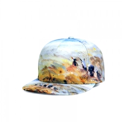 Fashion Outdoor Baseball Cap Cricket Cap Street Dance Hip-hop Printing Cap colours
