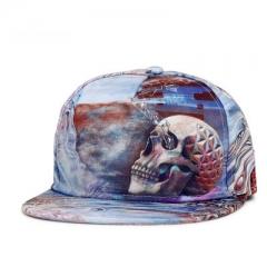3D Printed Fashion Outdoor Street Dance Hip-hop Printing Cap Baseball Cap colours