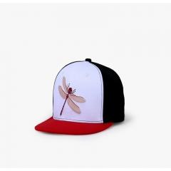 Flat Eaves Hip Hop Cap Embroidered Street Dance Pure Color Baseball Cap Hat colours
