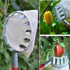 Portable Metal Picking Tool High Altitude Fruit Picking Device Garden Tools one-color 14cm