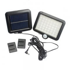 56LED New Solar Energy Lamp Human Body Induction Wall Lamp Outdoor Courtyard Lamp Street Lamp white 1.5W
