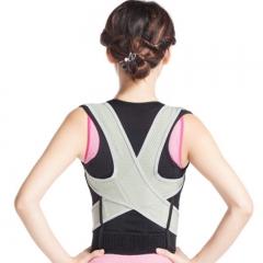 Kyphosis Correction Belt Humpback Correction Sitting Posture Corrector Back Appliance s-black