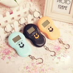 Digital LCD Mini Portable Calabash Scale Portable Electronic Weighing Scale Random colors one-size