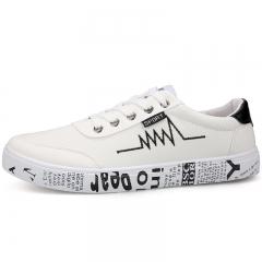 Fashion Trend Men's Shoes Flat Shoes Casual Shoes white 39