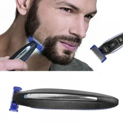 Multi-function Charging Shaving Knife Cleaning Shaver Electric beard shaver Rechargeable Razor black one-size