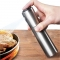Oil Spray Bottle Fuel Injector Sprayer Pot Gravy Boats Kitchen Tools Stainless steel one-size