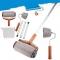 Household Wall Tool 6pcs/Set Home Improvement Decorative Paint Runner Pro Roller Brush random colors one-size