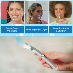 New Electric Sonic Tooth Stain Eraser Plaque Remover Dental Tool Kit Teeth Whitening Dental one-size