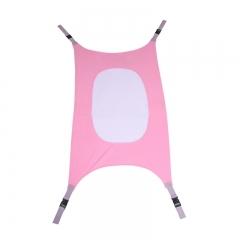 Infants Hammock Baby Detachable Protable Folding Crib Cotton Newborn Sleeping Bed Outdoor Pink one-size
