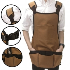 Durable Multiple Pockets Garden Apron Garden Work Clothes Garden Tool