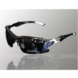 New Professional Polarized Cycling Glasses Bike Goggles Sports Bicycle Sunglasses UV 400 Black & Yellow