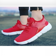Men 's sports Fashion Sneakers comfortable casual shoes running shoes Red 39