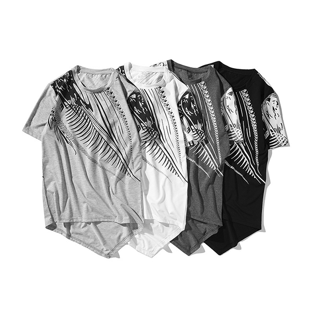 d1b01fef2e2b Men's Large Size Hip-Hop Style Dragon Print Short-Sleeve T-Shirt dark grey  xxl: Product No: 1341864. Item specifics: Seller SKU:CH0020SG2L: Brand: