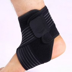 1 Piece Ankle Support Sports Ankle Guard Ankle Protector Elastic Ankle Brace Professional LEFT FOOT free size