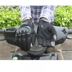 Motorcycle Gloves Racing Gloves Motorbike Gloves Protective Guantes Touch Screen Cycling Gloves BLACK XXL