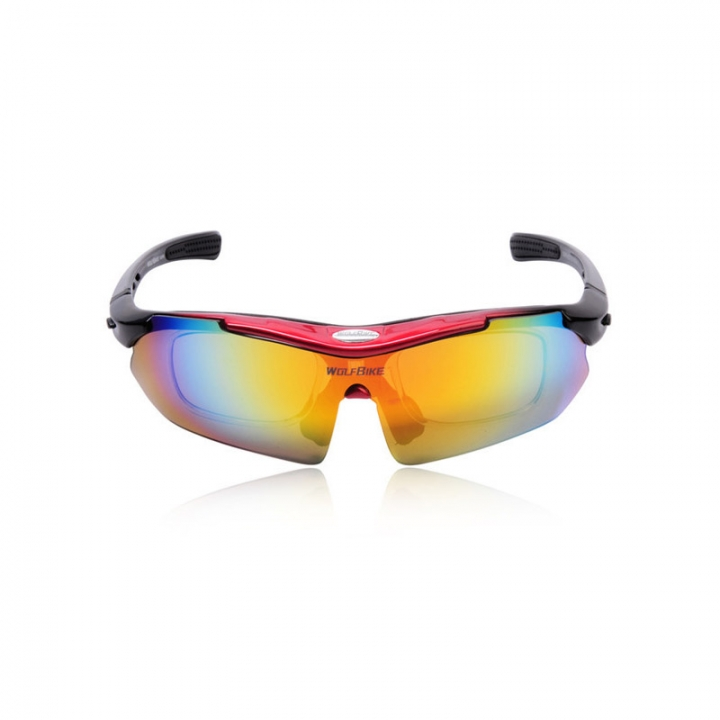 Sunglasses Bicycle Sports Red One Bike Goggles Lens Size Outdoor Polarized Uv With Glasses 5 Cycling Protection l1FTc3uJ5K