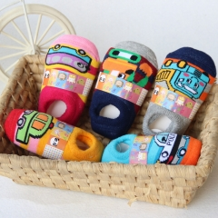 5pair/lot Newborn Infant Socks Anti Slip Baby Boy Socks Toddlers Baby Girl Floor Socks  Mixed Color 0-6 Months