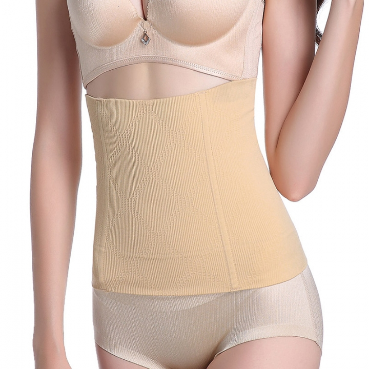 98ce7950ea Women Slimming Waist Trainer Shapewear For Weight Loss Tummy Control Body  Shaper Breathable Waist skin color