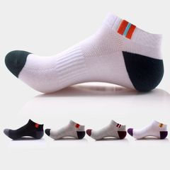 5 Pairs Socks Men Sports Outdoor Hiking Mountain Climbing Sock mixed colors one size