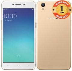 OPPO A37 - Camera Phone 16GB+2GB, 8MP+5MP, 2630mAH,Dual Nano-SIM - 4G Smartphone gold