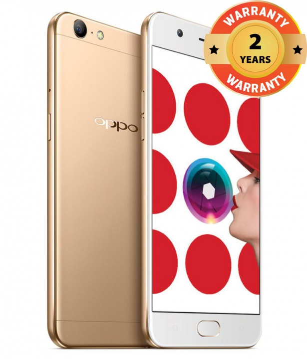 OPPO A57 - Camera Phone 32GB+3GB, 13MP+16MP Camera, 2900mAH, - 4G/LTE Smartphone Gold