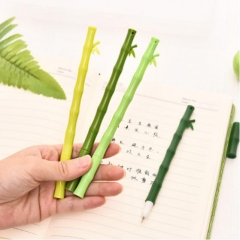 G2G 0.5mm Bamboo black pencil core Student stationery wholesale cute creative water pen Random color As Picture