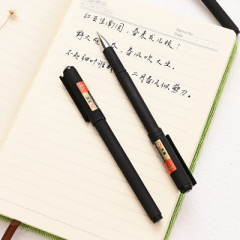 G2G 0.5mm Black ink Office pen Student stationery wholesale cute creative water pen Black as picture