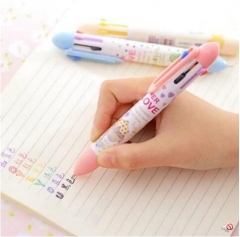 G2G 7 color ballpoint pen creative stationery cartoon cute wholesale color pen core