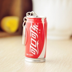 G2G Cute creative stationery wholesale cola pen drink retractable pen key chain Coca-Cola 5.3cm*2.5cm