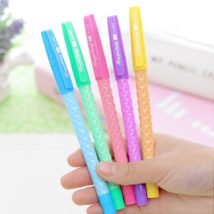 G2G 1piece Christmas  0.5mm Blue ink Creative pen pen stationery wholesale Lovely office supplies