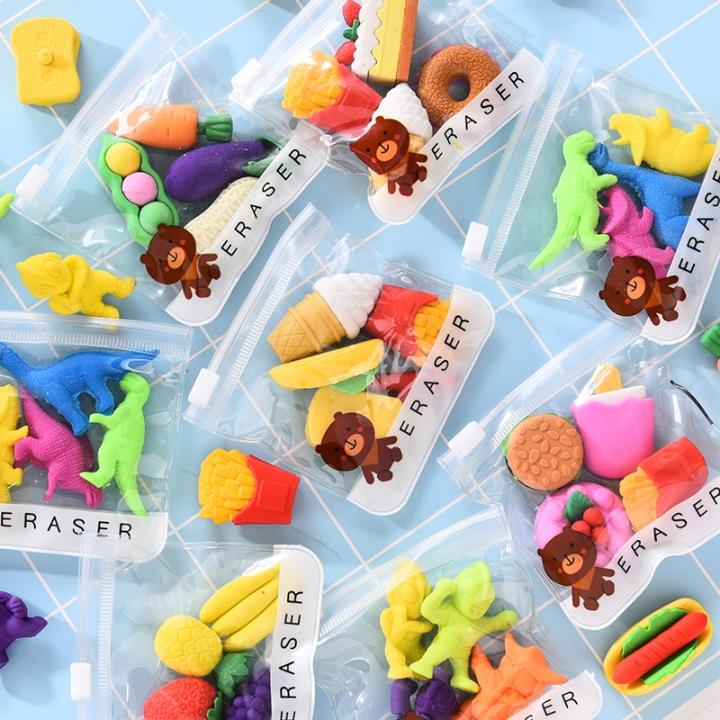 G2G 1 bag Creative cartoon eraser