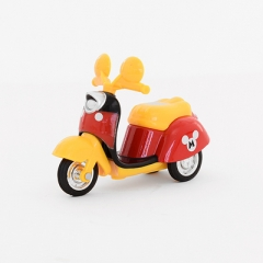 G2G 1piece Three rounds of small motorcycle children cute mini model car model male girl toy car red 9*7.2cm