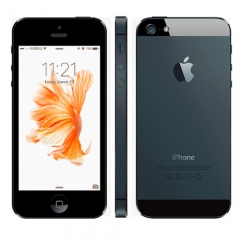 iPhone 5-4'',16G,Authentic Guaranteed,Unlocked Smart Mobile Phone (90% into new) Black