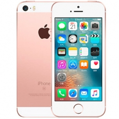 iPhone SE-4'',16GB,Inserting card,Unlocked Smart Mobile ( 90% into New) Rose Gold