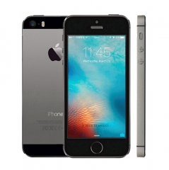 iPhone 5S-4'',32GB,Authentic Guaranteed,Unlocked Smart Mobile ( 90% into new) Black