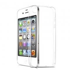 G2G Brand 1pcs Transparent silicone case for iPhone4S transparent suitable for iphone4 、 4s