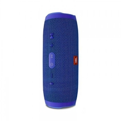 JBL Charge 3 Wireless Bluetooth IPX7 Waterproof Speaker(Refurbished 99% into new) blue