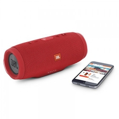 JBL Charge 3 Wireless Bluetooth IPX7 Waterproof Speaker(Refurbished 99% into new) red