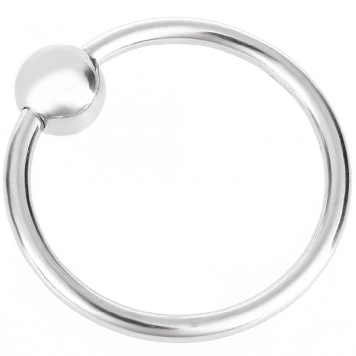 RYSM - 007 Stainless Steel Cockring Bead Delay Ring Prevent Premature Ejaculation for Men default SILVER