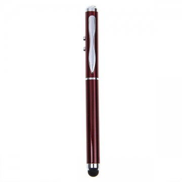 3-in-1 Magic Touch Pen for iPad Mini , iPad 2 , iPad 3 , iPhone 6 / 5 / 5S / 4 / 4S / 3GS , iPod default RED