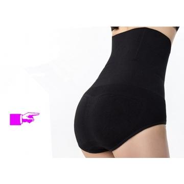 High-elastic Beauty Slimming Burn Fat Spanx high waist tummy control body shaper pants Black M/L