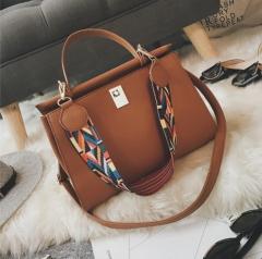 JOYOU Handbag Classic Fashion Women Luxury Handbag brown one size