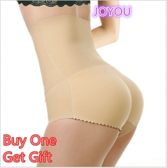 JOYOU- Non-Mark Prominent Hip buttocks effective upright body shapers slim waist tummy for 4 seasons black s