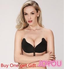 New design Fashion Women Lady Comfortable Silicone Invisible Bra Strap Underwear Nubra black A