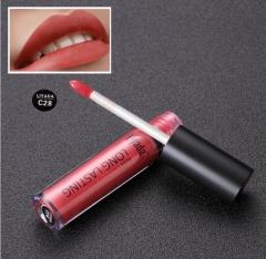 Women Fashion Makeup Waterproof Tint Lip Gloss Matte Lipstick C28