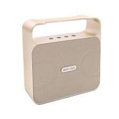 NBY powerful 10w bluetooth speaker boombox wireless portable bass loud gold 10w 360