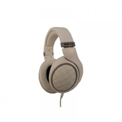 JayJero J5 Professional wired over ear Dj Studio Designer Headset Headphones White with Silver pouch white