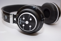 JayJero B-07 Bluetooth headphones with fm radio and tf card. bass headset clear cute loud stereo black