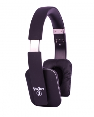 JayJero at-bt803 bluetooth headphone wireless heavy bass square foldable  headset stereo with mic matte black